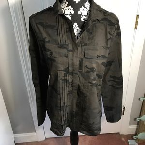 Sanctuary Camo blouse